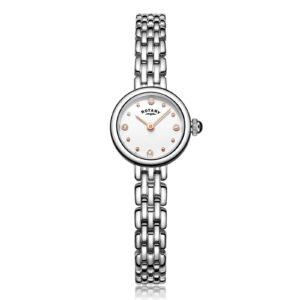 Rotary Classic Stainless Steel Elegant Stones Ladies' Watch LB05052/02 LB05 £139